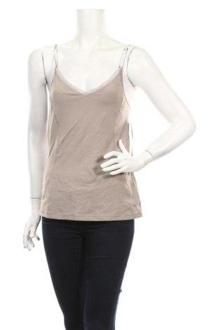 Tricou de damă Lole, Mărime M, Culoare Bej, 48% lyocell, 47% bumbac, 5% elastan, Preț 60,63 Lei