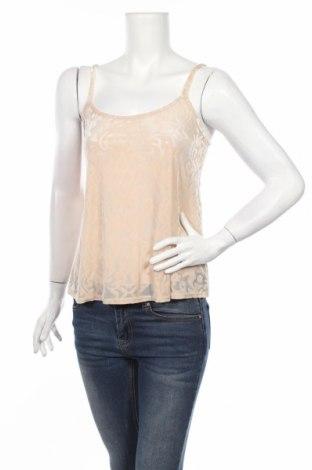 Γυναικείο αμάνικο μπλουζάκι New Look, Μέγεθος M, Χρώμα  Μπέζ, Τιμή 2,71€