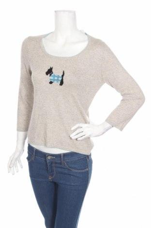 Damski sweter, Rozmiar S, Kolor Szary, 55% jedwab, 45% kaszmir, Cena 220,00zł