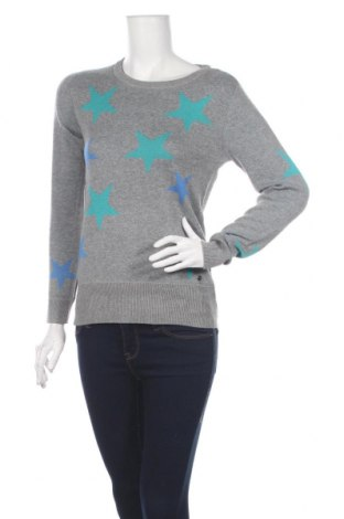 Дамски пуловер Ajc, Размер XS, Цвят Сив, 50% памук, 50% акрил, Цена 17,16лв.