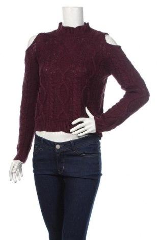 Дамски пуловер Ardene, Размер M, Цвят Лилав, 68% акрил, 32% памук, Цена 28,64лв.