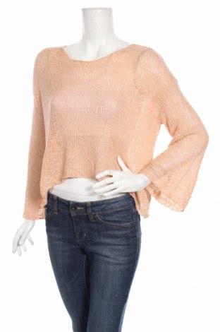 Дамски пуловер Atmos & Here, Размер M, Цвят Розов, 60% акрил, 40% памук, Цена 24,99лв.