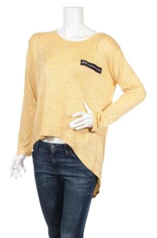 Дамски пуловер Avocado, Размер L, Цвят Жълт, Полиестер, вискоза, еластан, Цена 22,18лв.