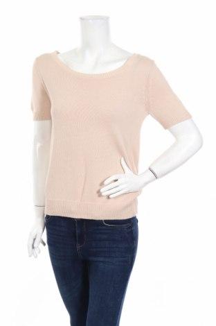 Γυναικείο πουλόβερ Intimissimi, Μέγεθος M, Χρώμα  Μπέζ, 80% βαμβάκι, 17% πολυαμίδη, 3% ελαστάνη, Τιμή 16,70€