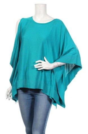 Дамски пуловер Michael Kors, Размер M, Цвят Син, 60% памук, 40% вискоза, Цена 74,09лв.