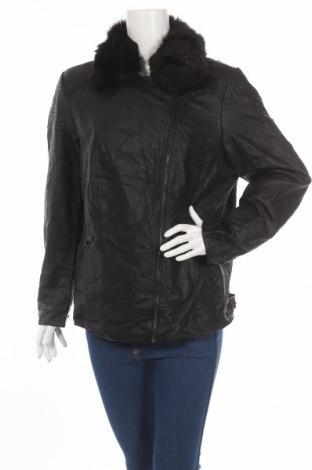 Dámská kožená bunda  Autograph, Rozměr XL, Barva Černá, Eko kůže, Cena  750,00Kč