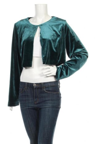 Дамско сако Bpc Bonprix Collection, Размер XL, Цвят Зелен, 96% полиестер, 4% еластан, Цена 44,80лв.