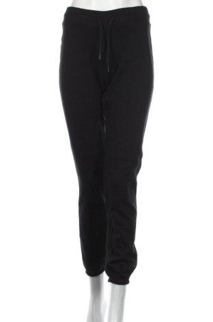 Дамско спортно долнище Active&Co, Размер S, Цвят Черен, Полиестер, памук, Цена 20,58лв.