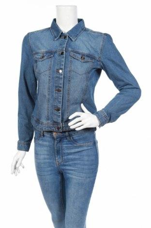Γυναικείο μπουφάν Jacqueline De Yong, Μέγεθος M, Χρώμα Μπλέ, 62% βαμβάκι, 20% πολυεστέρας, 18% βισκόζη, Τιμή 18,19€