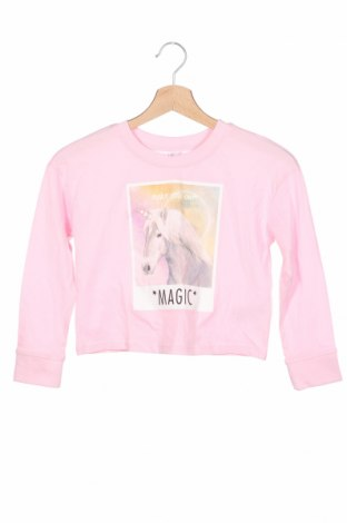 Детска блуза Bpc Bonprix Collection, Размер 7-8y/ 128-134 см, Цвят Розов, Памук, Цена 24,00лв.