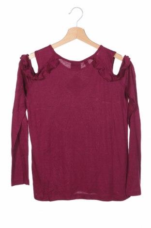 Детска блуза Bpc Bonprix Collection, Размер 11-12y/ 152-158 см, Цвят Лилав, Вискоза, Цена 7,36лв.