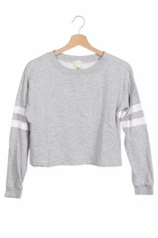 Detská blúzka  H&M, Veľkosť 12-13y/ 158-164 cm, Farba Sivá, 95% bavlna, 5% viskóza, Cena  9,15€