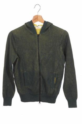 Детска жилетка SUN68, Размер 11-12y/ 152-158 см, Цвят Зелен, Памук, Цена 33,96лв.