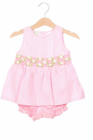 Rochie de copii, Mărime 6-9m/ 68-74 cm, Culoare Roz, 100% bumbac, Preț 109,02 Lei