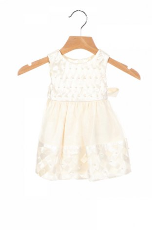 Детска рокля American Princess, Размер 6-9m/ 68-74 см, Цвят Екрю, Полиестер, Цена 31,50лв.