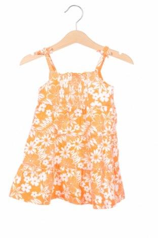 Rochie de copii Faded Glory, Mărime 18-24m/ 86-98 cm, Culoare Portocaliu, 95% bumbac, 5% elastan, Preț 74,70 Lei