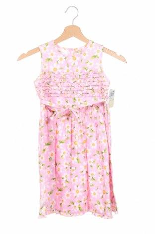 Rochie de copii Laura Ashley, Mărime 6-7y/ 122-128 cm, Culoare Roz, 100% bumbac, Preț 136,45 Lei