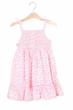 Rochie de copii Laura Ashley, Mărime 3-4y/ 104-110 cm, Culoare Roz, 58% bumbac, 42% poliester, Preț 71,42 Lei