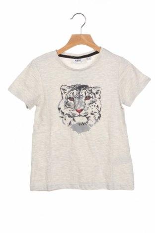 Παιδικό μπλουζάκι Bpc Bonprix Collection, Μέγεθος 8-9y/ 134-140 εκ., Χρώμα Γκρί, 98% βαμβάκι, 2% ελαστάνη, Τιμή 7,37€