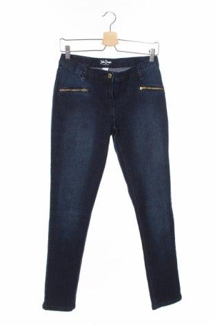 Детски дънки John Baner, Размер 14-15y/ 168-170 см, Цвят Син, 82% памук, 17% полиестер, 1% еластан, Цена 8,40лв.