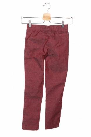 Детски дънки John Baner, Размер 6-7y/ 122-128 см, Цвят Червен, 65% памук, 33% полиестер, 2% еластан, Цена 33,75лв.