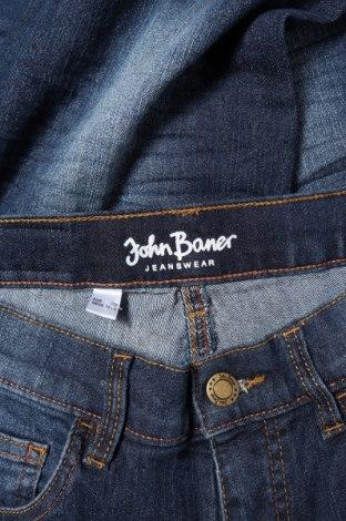 Детски дънки John Baner, Размер 11-12y/ 152-158 см, Цвят Син, 82% памук, 17% полиестер, 1% еластан, Цена 8,28лв.