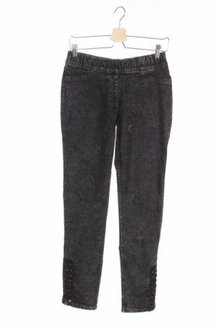 Детски дънки John Baner, Размер 14-15y/ 168-170 см, Цвят Сив, 82% памук, 17% полиестер, 1% еластан, Цена 9,00лв.