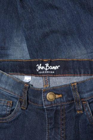Детски дънки John Baner, Размер 8-9y/ 134-140 см, Цвят Син, 82% памук, 17% полиестер, 1% еластан, Цена 6,90лв.