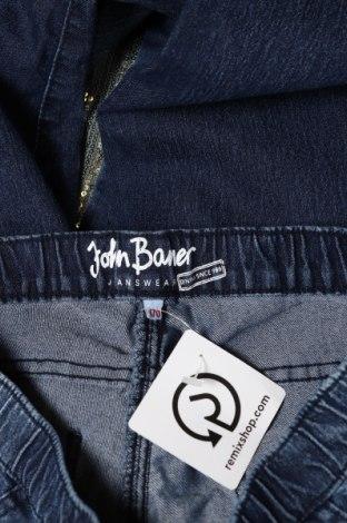 Детски дънки John Baner, Размер 14-15y/ 168-170 см, Цвят Син, 81% памук, 17% полиестер, 2% еластан, Цена 36,00лв.