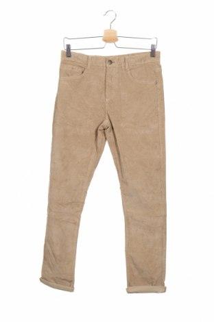 Детски джинси Zara, Размер 13-14y/ 164-168 см, Цвят Кафяв, 99% памук, 1% еластан, Цена 26,75лв.
