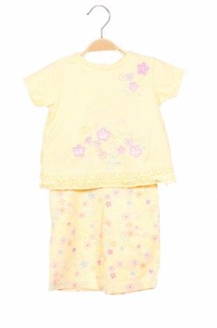 Set de copii, Mărime 18-24m/ 86-98 cm, Culoare Galben, 00% bumbac, Preț 123,50 Lei