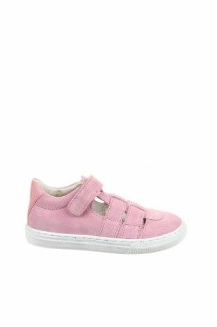 Детски обувки Bo-Bell, Размер 25, Цвят Розов, Естествен велур, Цена 39,96лв.