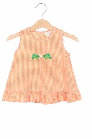 Maiou pentru copii, Mărime 12-18m/ 80-86 cm, Culoare Portocaliu, 60% bumbac, 40% poliester, Preț 71,42 Lei