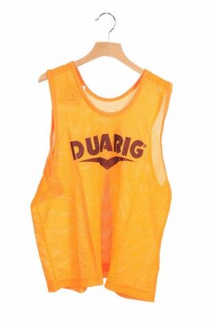 Μπλουζάκι αμάνικο παιδικό Duarig, Μέγεθος 11-12y/ 152-158 εκ., Χρώμα Πορτοκαλί, Πολυεστέρας, Τιμή 2,38€