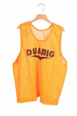 Μπλουζάκι αμάνικο παιδικό Duarig, Μέγεθος 11-12y/ 152-158 εκ., Χρώμα Πορτοκαλί, Πολυεστέρας, Τιμή 1,03€