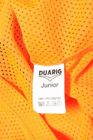 Μπλουζάκι αμάνικο παιδικό Duarig, Μέγεθος 11-12y/ 152-158 εκ., Χρώμα Πορτοκαλί, Πολυεστέρας, Τιμή 3,57€
