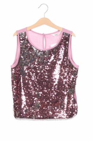 Детски потник H&M, Размер 11-12y/ 152-158 см, Цвят Розов, 100% полиестер, Цена 18,90лв.