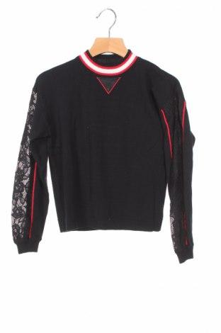 Detský sveter  Twinset, Veľkosť 6-7y/ 122-128 cm, Farba Čierna, 49% viskóza, 30% polyester, 21% polyamide, Cena  21,90€