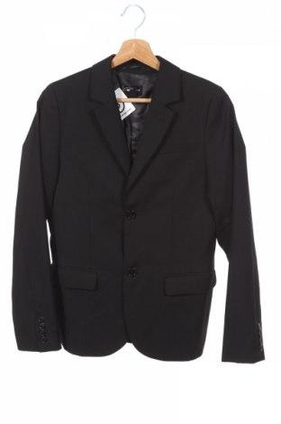 Детско сако H&M, Размер 11-12y/ 152-158 см, Цвят Черен, 65% полиестер, 35% вискоза, Цена 30,94лв.