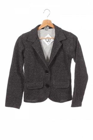 Παιδικό σακάκι Queen, Μέγεθος 13-14y/ 164-168 εκ., Χρώμα Μαύρο, 70% βαμβάκι, 30% μεταλλικά νήματα, Τιμή 15,20€