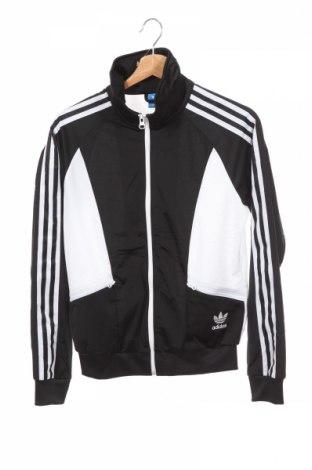 Bluză trening de copii Adidas Originals, Mărime 11-12y/ 152-158 cm, Culoare Negru, Poliester, Preț 113,40 Lei