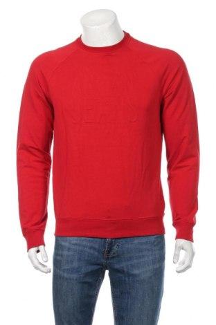 Ανδρική μπλούζα Armani Jeans, Μέγεθος L, Χρώμα Κόκκινο, 95% βαμβάκι, 5% ελαστάνη, Τιμή 31,92€