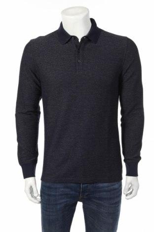 Мъжка блуза S.Oliver, Размер M, Цвят Син, 80% памук, 20% полиестер, Цена 23,75лв.