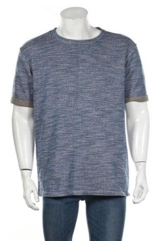 Ανδρική μπλούζα Zara Man, Μέγεθος XL, Χρώμα Μπλέ, 46% βαμβάκι, 41% πολυεστέρας, 13% βισκόζη, Τιμή 9,35€