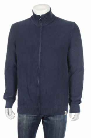 Pánsky kardigán McNeal, Veľkosť XL, Farba Modrá, Bavlna, Cena  32,12€