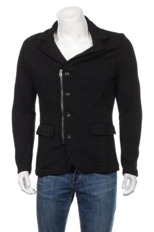 Pánsky kardigán RNT23 Jeans, Veľkosť L, Farba Čierna, 50% bavlna, 50% polyester, Cena  35,72€