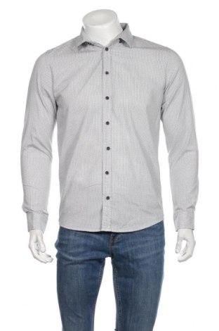 Ανδρικό πουκάμισο Black Label, Μέγεθος M, Χρώμα Γκρί, Βαμβάκι, Τιμή 10,52€