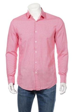 Ανδρικό πουκάμισο Boss, Μέγεθος M, Χρώμα Κόκκινο, Τιμή 41,96€