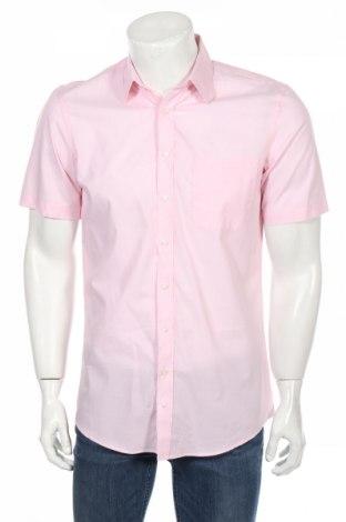Ανδρικό πουκάμισο Canda, Μέγεθος S, Χρώμα Ρόζ , Βαμβάκι, Τιμή 1,81€