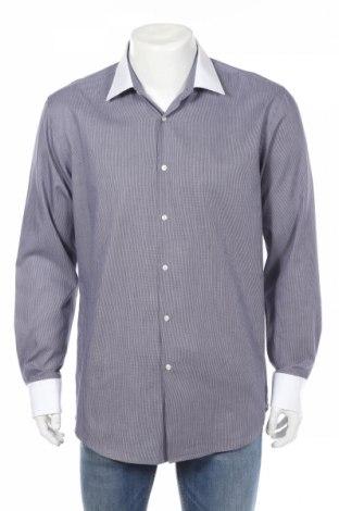 Мъжка риза Hugo Boss, Размер XL, Цвят Син, Памук, Цена 73,80лв.
